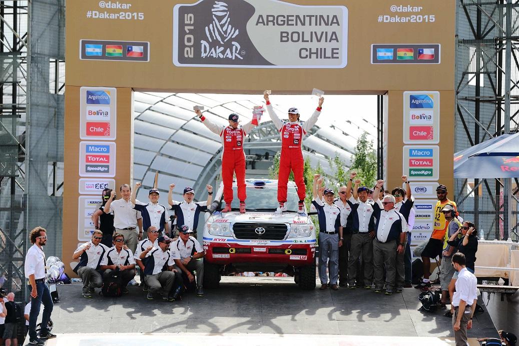 1日で世界一過酷なモータースポーツ「ダカール・ラリー」を体感できるイベントが開催