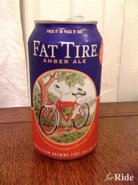 """乗り物好きなら飲まなきゃ!絶品ビール""""FAT TIRE""""とは?"""