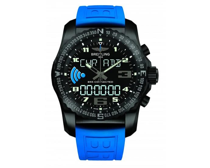 """ブライトリングの最新腕時計""""Breitling B55""""がハイテクすぎる!"""