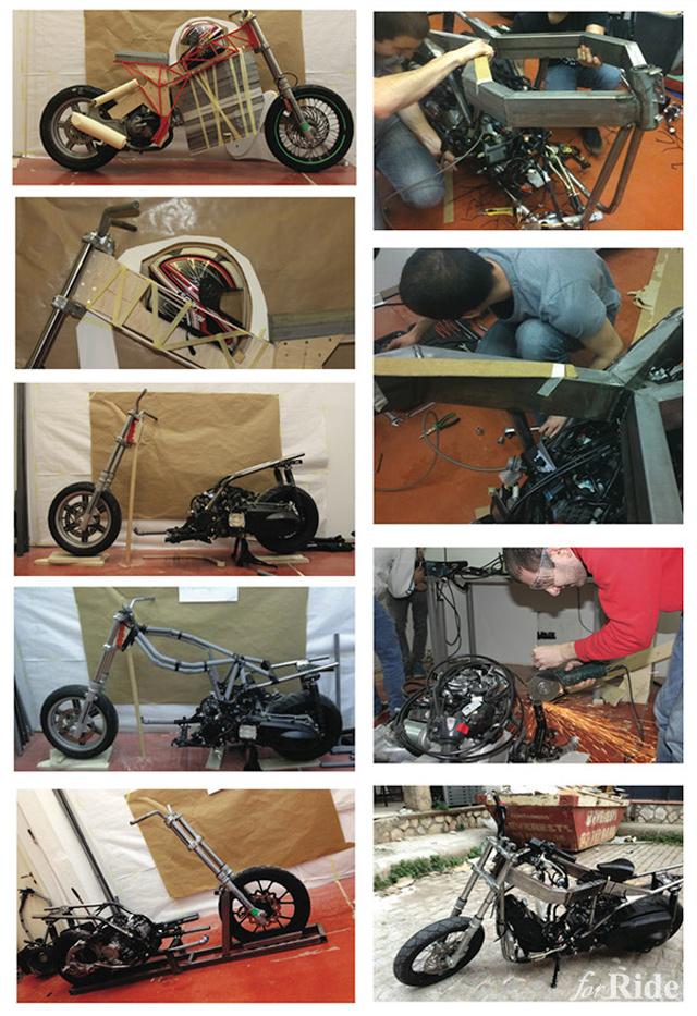 エンジン不在!? 収納スペースだらけのコンセプトバイク!