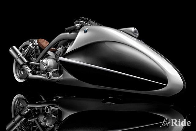 直線番長!マンロー・スペシャルのようなBMWのコンセプトバイクデザイン