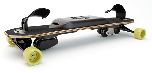 雪がなくてもスノーボードが楽しめる「eスノーボード」