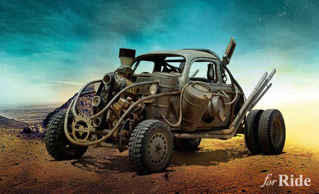 マッドマックス最新作に登場する車輌がやっぱりイカれててイカしてる!