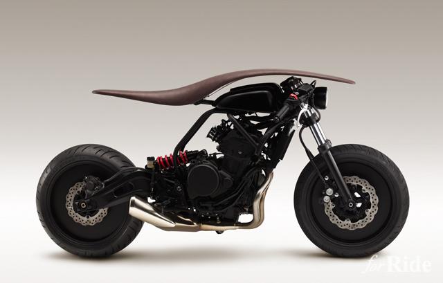 楽器デザイナーが作ったバイクが独創的すぎる!!【プロジェクト アーメイ(前編)】