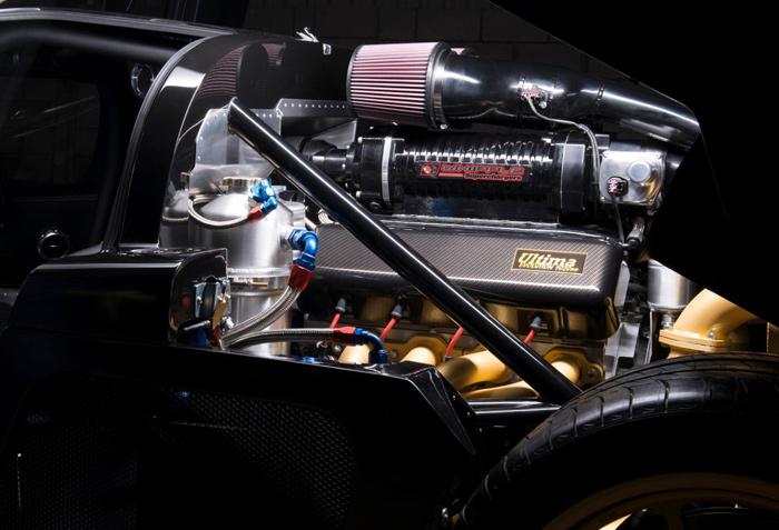 """英国ウルティマ社が最大1,020馬力スーパーカー""""エボリューション""""を発表"""