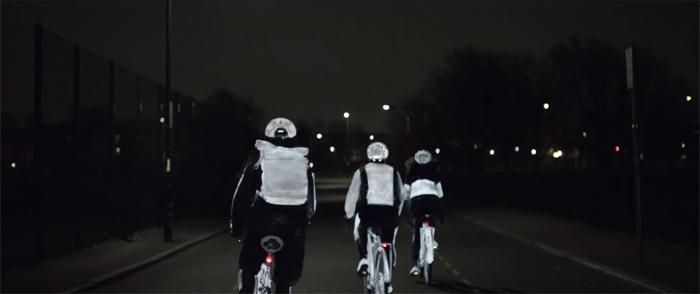 """自動車メーカー""""VOLVO""""が開発した自転車事故を減らすスプレー!"""
