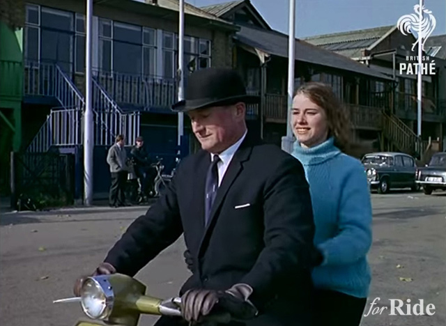 1960年にすでに英国で誕生していた水陸両用バイク!