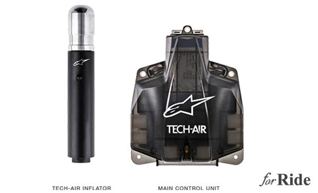 バイク用エアバッグ内蔵スーツをBMWとalpinestarsが共同開発