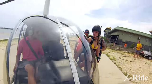GoProプロモーション映像のスカイダイビングを観ているだけで手汗が止まらない!!