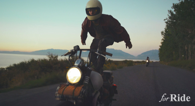 ひたすらジーザス・ライドをするハイクオリティーな映像作品!