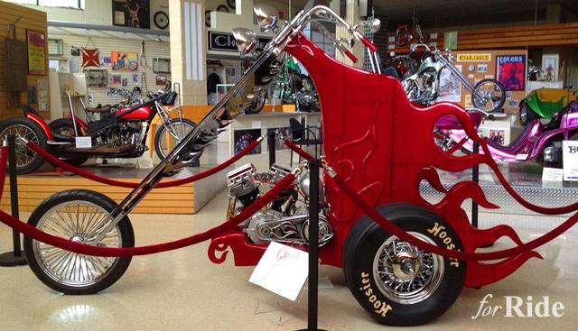 エド・ロスとアーレン・ネスが製作した奇抜すぎるバイク「Cherry It」