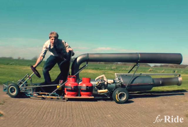 もしもマリオカートのスタートダッシュが使えたら…を実現してしまったオトコ!