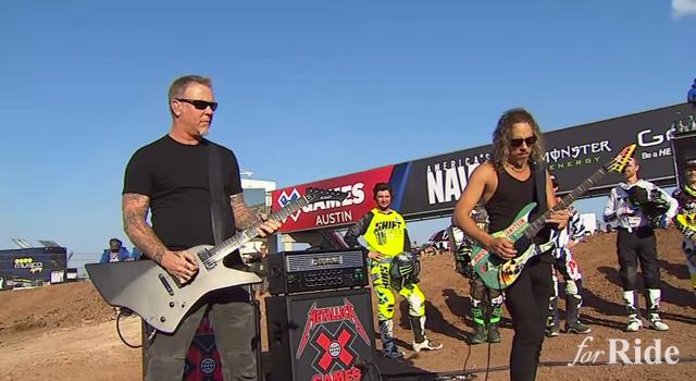 豪華な国家斉唱!オースティンで開催されたX-GAMESの国家斉唱はあのバンドだ!