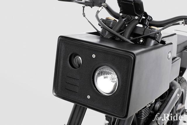 ヤマハ「スコーピオ」が斬新なカタチに!インドネシアのカスタムショップ「Thrive Motorcycle」