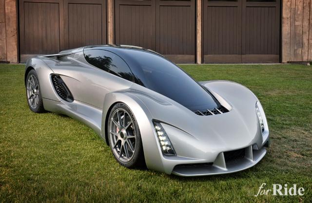 今日から俺もクルマメーカー!3Dプリンターで作った700馬力スーパーカー「BLADE」の完成度が高すぎる!