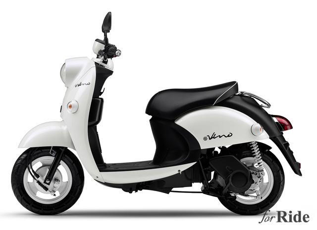 ヤマハが3時間充電で29km走行可能な本気の電気スクーター「E-Vino」を発表