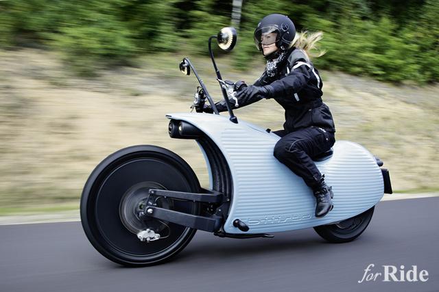 スニーカーで有名なプーマがバイクのコンセプトモデルを発表していた!?