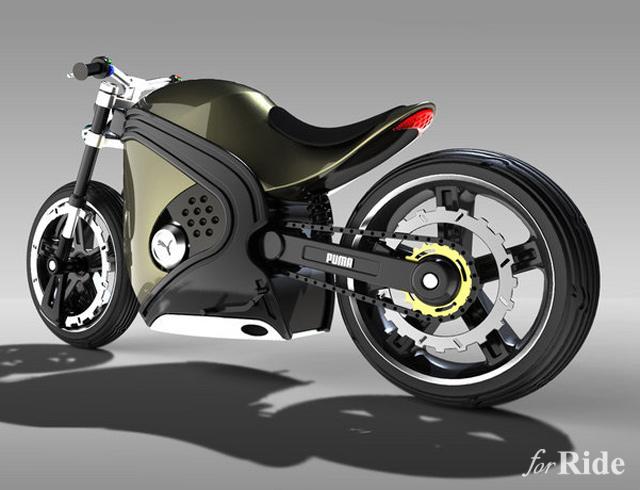 スニーカーで有名なプーマがコンセプトバイクを発表していた!?