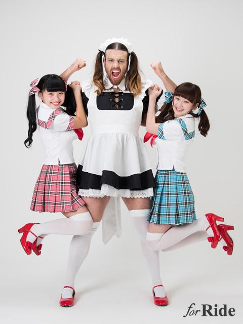 美少女×ヒゲ女装外国人!? 異色のアイドル「LADY BABY」について学ぶ!