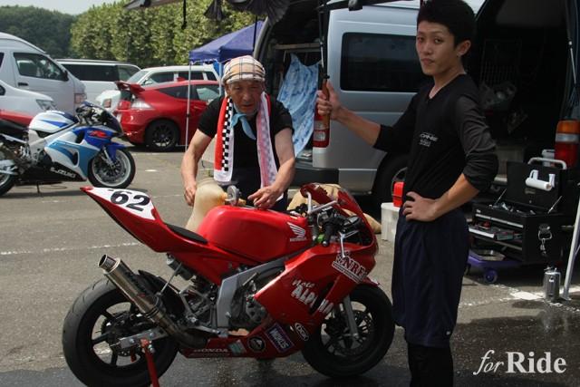 サーキット走行初心者はミニバイクでのデビューがオススメ