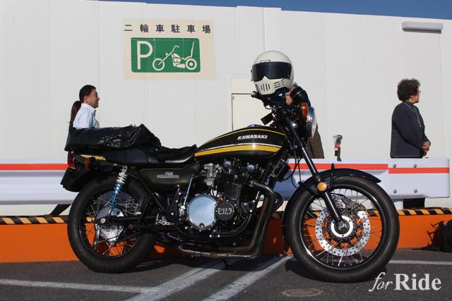 アメリカンチョッパーなバイク駐輪場の表記があるって知ってた?