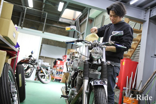大阪のモーターガレージグッズが移転リニューアル