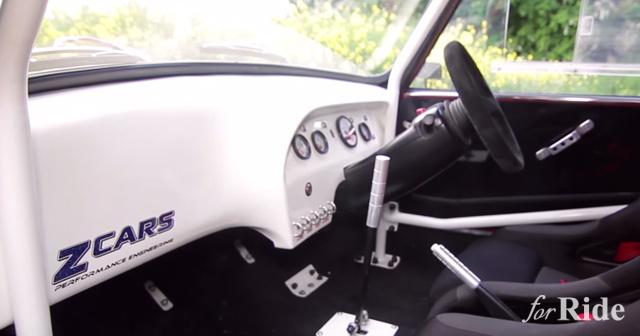 スズキ「GSX-R1000」のエンジンを搭載したMini「Minus」