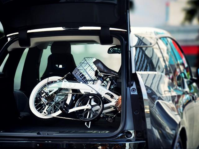 近所の買い物からサイクリングまで、気軽に使える16インチ自転車「SERENO」