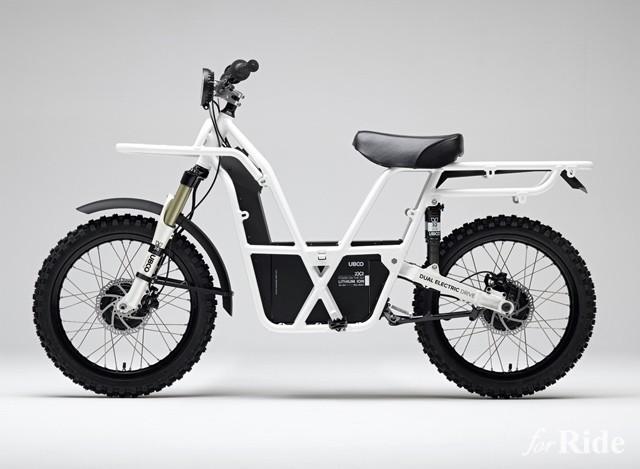 2輪駆動のオフロードタイプ電動バイクUbco「2x2」