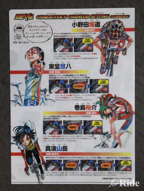 マンガ「弱虫ペダル」とケミカルブランド「WAKO'S」のコラボレーション商品がある!?