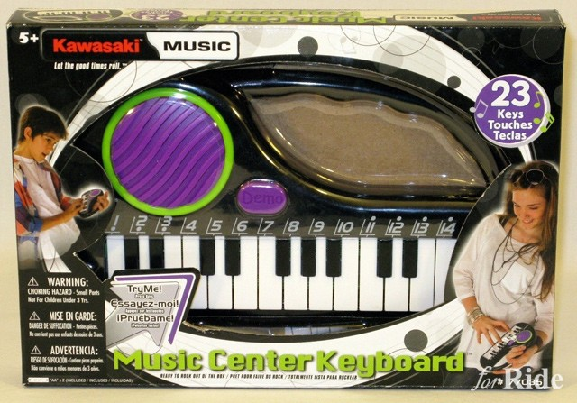 カワサキ乗り必見!男カワサキのキーボードを弾け!