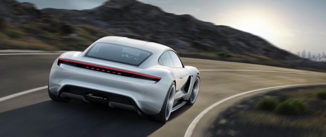 Porsche Mission E8