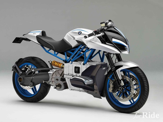 BMWモトラッドのコンセプトバイクは電動のボクサーツイン!