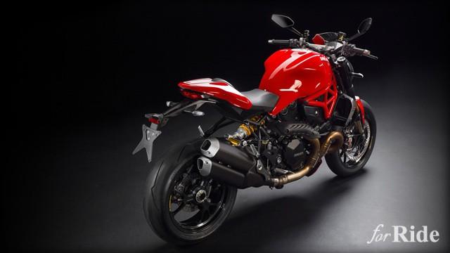 ドゥカティ史上最もパワフルな新型ネイキッド「Monster 1200R」を世界初公開!