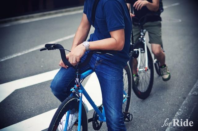 ママチャリから乗り換えるならコレ!街乗り仕様のシングルスピードバイク