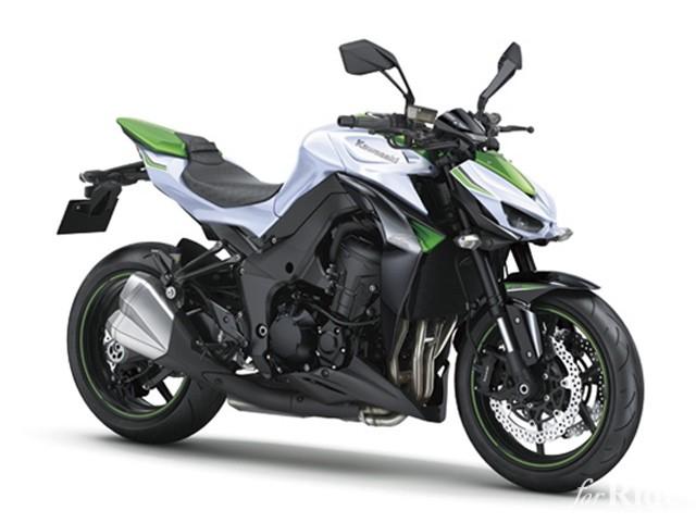 「Z1000/ABS」パールスターダストホワイト×ゴールデンブレイズドグリーン