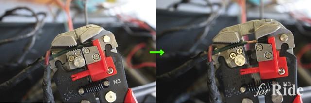 配線コードが超簡単かつキレイに むける工具とは?