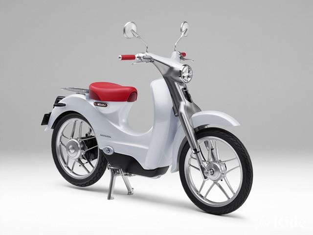 ホンダの名車「カブ」が遂に電動に!ホンダ「EVカブ」が世界初公開【東京モーターショー2015】