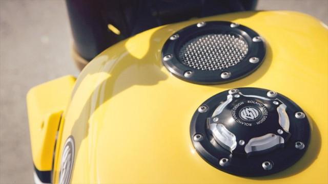 Roland Sands Designが作り上げたヤマハ「MT-09」は伝説のケニーロバーツ仕様だ!