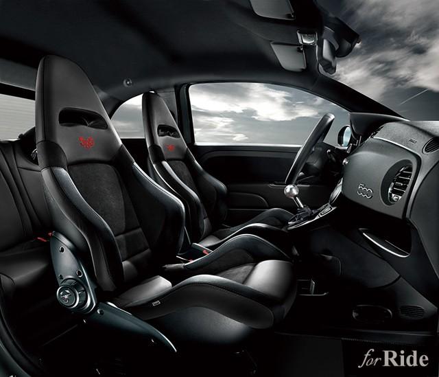 アバルト創業者の生まれ星座にちなんだアバルト595コンペティツィオーネの限定車を発売etizioneOKB_rid_c_b