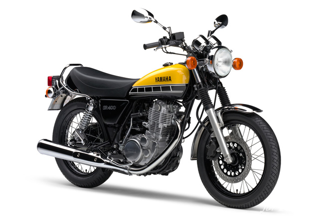 「SR400」や「VMAX」「BOLT」など、ヤマハ60周年アニバーサリーモデルは伝統のインターカラーだ!