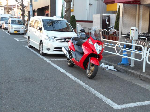 違反 原付 駐車