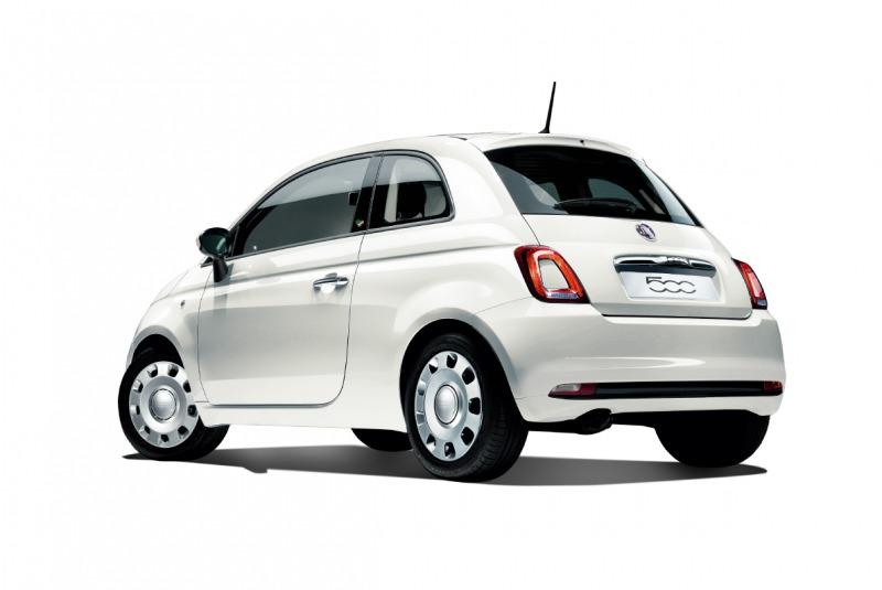 Fiat 500 Super Pop Amore ボサノバ ホワイト