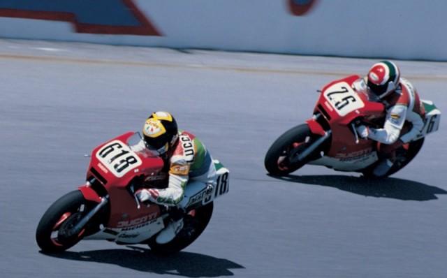 1986年デイトナを走る750F1