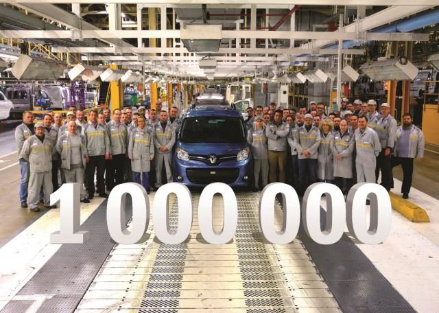 カングー生産100万台