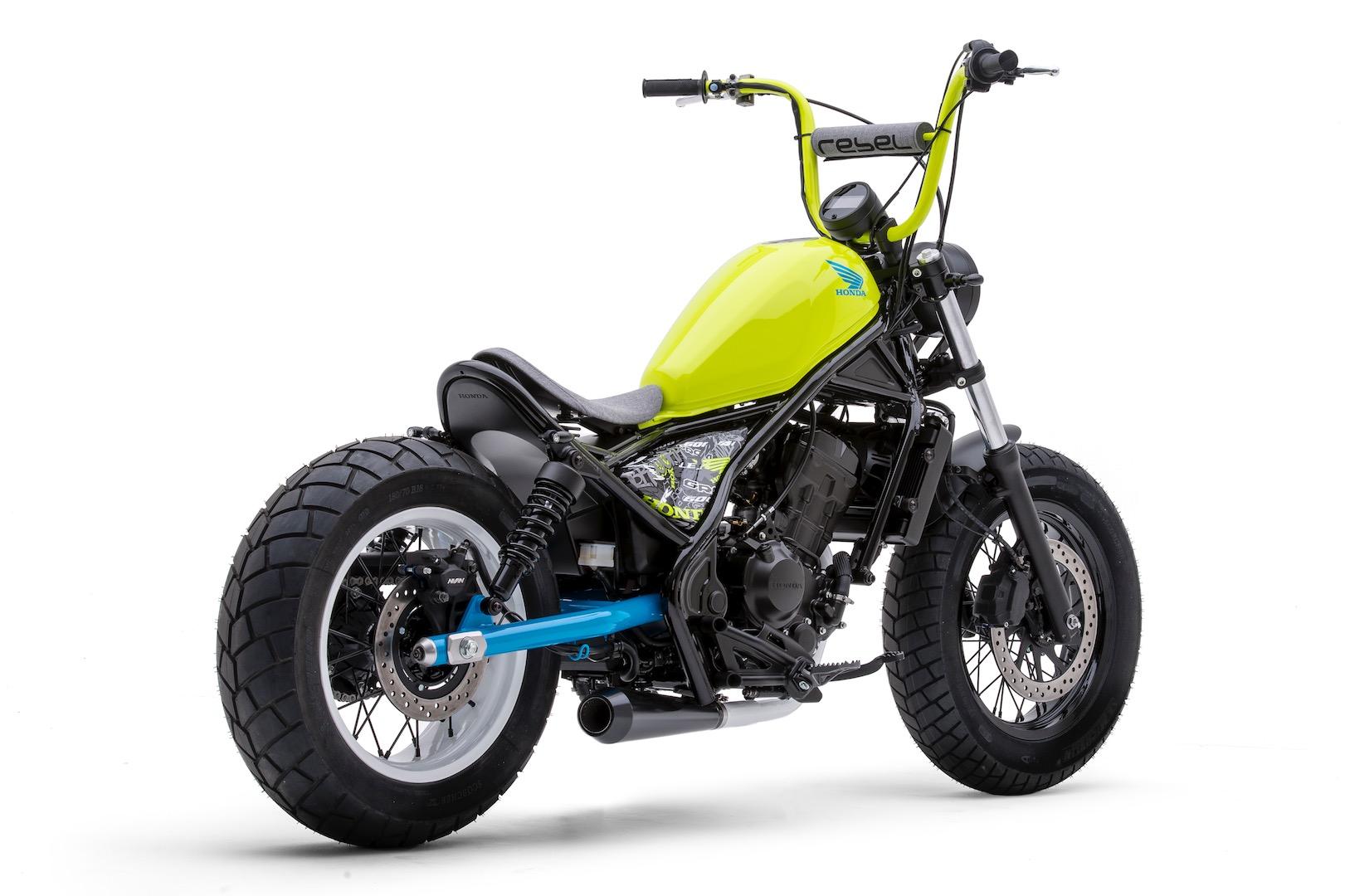 2018 Honda Rebel 250 >> 早くもキタ!ホンダ「レブル300&500 」ベースのカスタムマシンが斬新だ! | forRide(フォーライド)