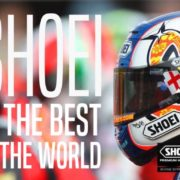 さすがメイドインジャパン!世界1位のSHOEIヘルメット!