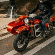 サイドカー付きのEVバイク!? まだまだ元気な「Ural」によるプロトタイプ