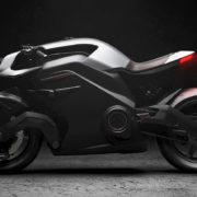 スマートヘルメット&ボディアーマーと連携した次世代EVバイク「Arc VECTOR」