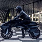 ついにここまで来たか!3Dプリンタ100%使用のバイク参上!